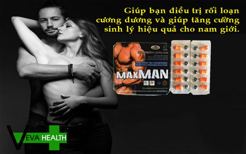 Tại vì sao MaxMan được nam giới ưu chuộng trên thị trường hiện nay?