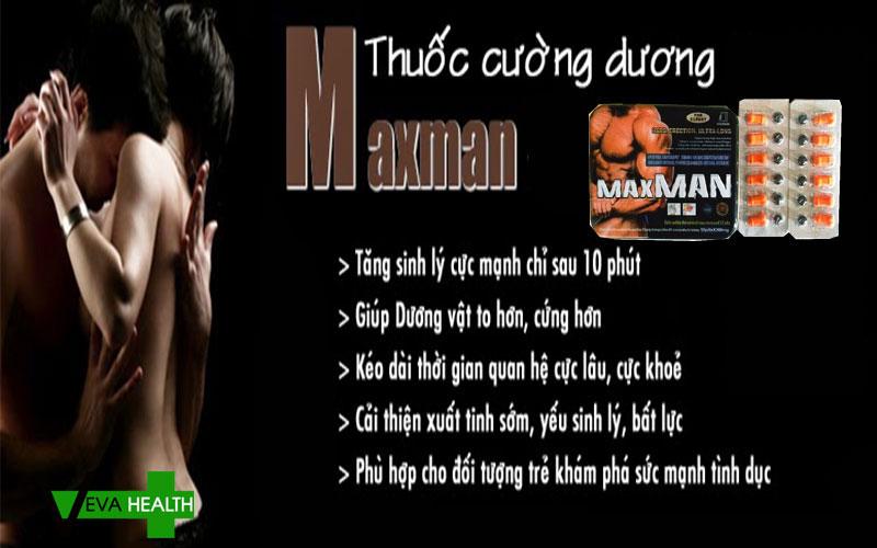 Tác dụng của Maxman