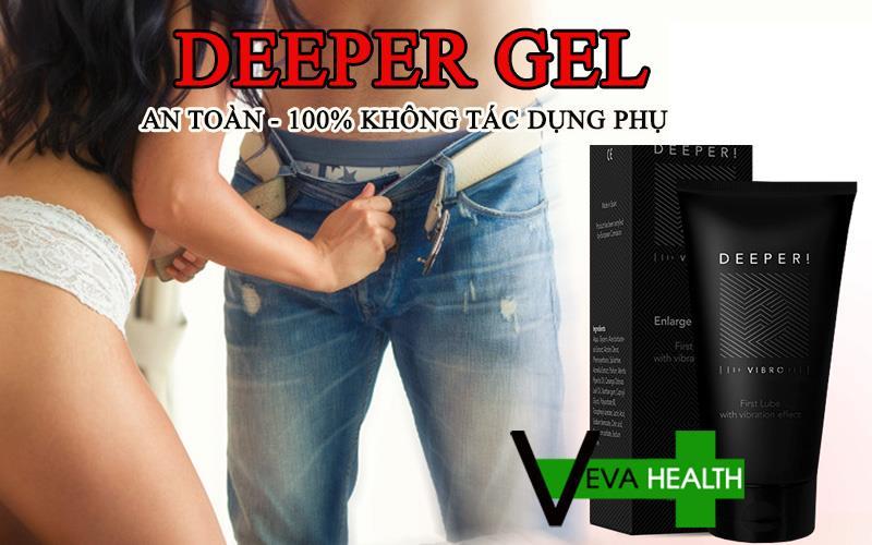 Deeper Gel tăng kích thước cậu nhỏ có tốt không? deeper gel 1