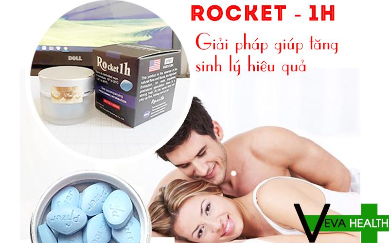 rocket Rocket 1h tăng cường sinh lý phái mạnh vượt trội 9 9
