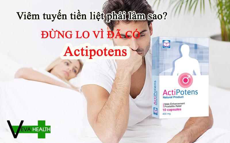 ACTIPOTENS là gì? có tốt không? giá bao nhiêu? mua ở đâu? cách sử dụng actipotens