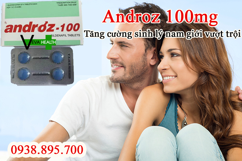 ANDROZ-100 là gì? có tốt không? giá bao nhiêu? mua ở đâu? cách sử dụng đúng cách androz 100 1
