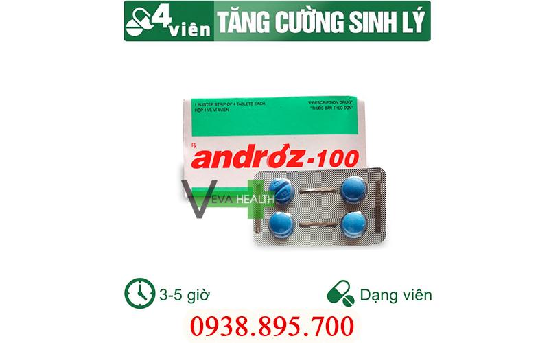 ANDROZ-100 là gì? có tốt không? giá bao nhiêu? mua ở đâu? cách sử dụng đúng cách androz 100