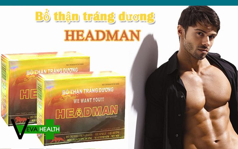 HEADMAN là gì? có tốt không? giá bao nhiêu? mua ở đâu? cách sử dụng headman