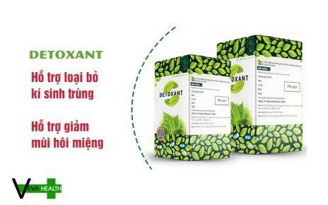 Detoxant loại bỏ hầu hết các loại ký sinh trùng