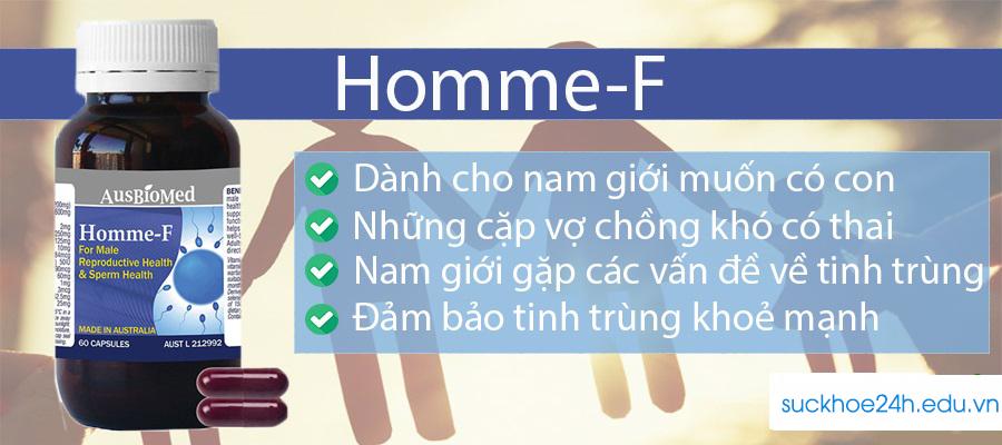 Homme F Là Gì? Có Tốt Không? Giá Bao Nhiêu? Mua Ở Đâu? Cách Sử Dụng