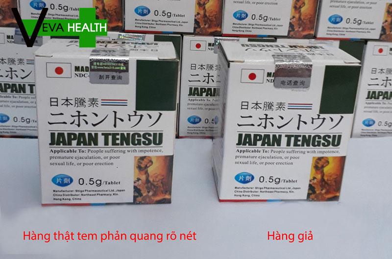 Cách phân biệt Japan Tengsu thật và giả?