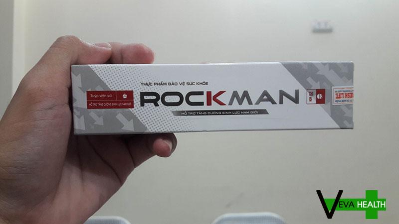 Cách phân biệt viên sủi Rockman thật giả