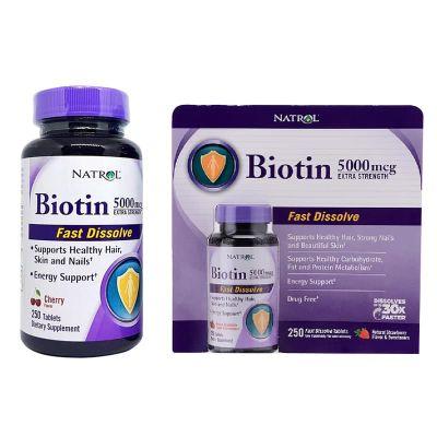 Thuốc kích thích mọc tóc nhanh Biotin