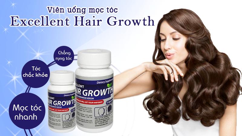 Thuốc mọc tóc nhanh Excellent Hair