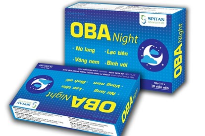 Thuốc trị mất ngủ thảo dược OBA Night