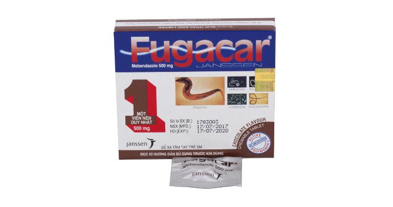 Thuốc tẩy giun Fugacar