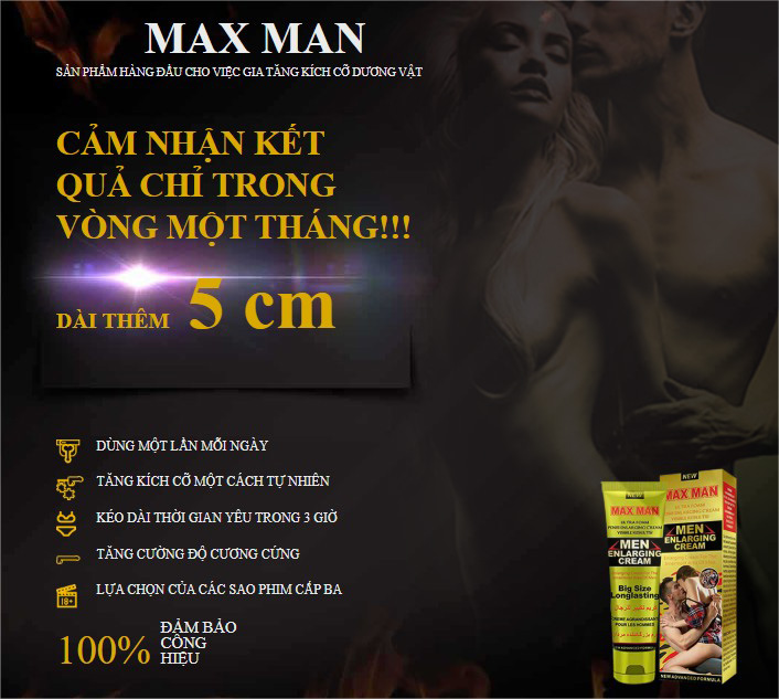 Maxman Enlarging Cream